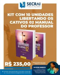 Kit Com 10 Unidades Libertando Os Cativos 02 Manual Do Professor