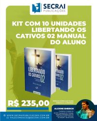 kit com 10 unidades libertando os cativos 02 manual do aluno