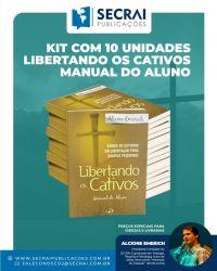 Kit Com 10 Unidades Livro Libertando Os Cativos Manual Do Aluno 1